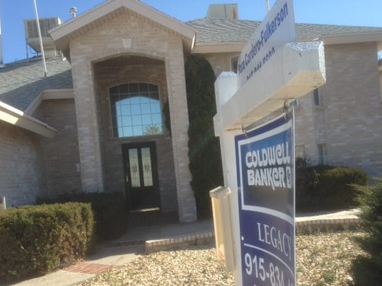 El Paso County used, or resale, home sales increased 10.1 percent in 2015. This home is on the 1900 block of Desert Sun in far East El Paso.