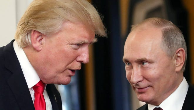 President Trump and Russian President Vladmir Putin
