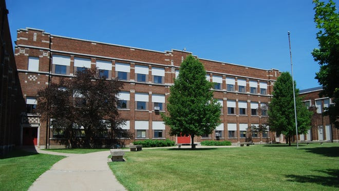 A church and a developer are scheduled to present offers for the former St. Clair Middle School.