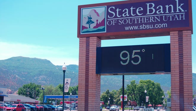 Temperatures are expected to reach triple-digits in Cedar City Tuesday. The National Weather Service has issued an excessive heat warning for portions of the state through Tuesday evening.