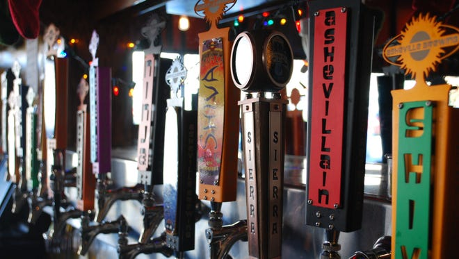A few Asheville Brewing favorites include the Ashevillian Black IPA, the Perfect Day IPA and Shiva IPA.