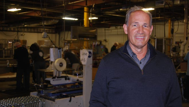 Dan Meyer is CEO of Nehemiah Manufacturing which will begin operation in Lower Price Hill in the coming weeks. March 27, 2018