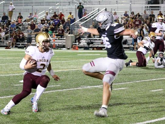 Lincoln High senior quarterback and Iowa State recruit