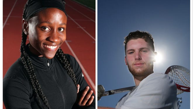 Lanae-Tava Thomas and Chayse Ierlan are the 2018 All-Greater Rochester Athletes of the Year.