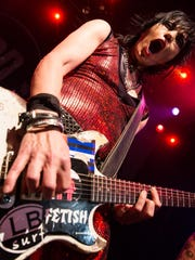 Joan Jett & the Blackhearts performs at Oregon State