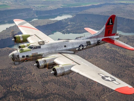 World War II Boeing B Flying Fortress Will Take The Skies Over - My flight to des moines
