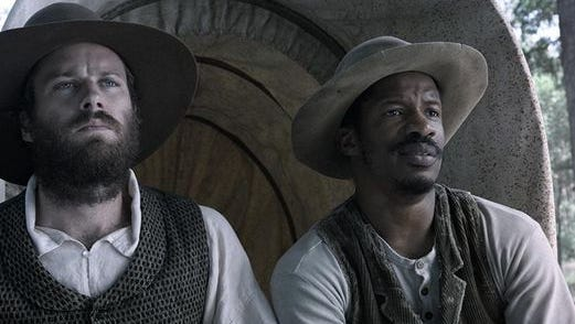 """Armie Hammer, left, and Nate Parker star the drama """"The Birth of a Nation,"""" which was directed by Parker."""
