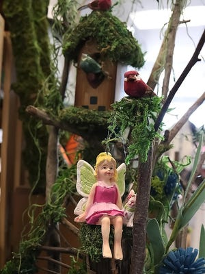 Fairies and Foraging Finds offers garden items at Artisan Collective in Aurora. It's owned by Debi Kaminski and Julia Johnson.