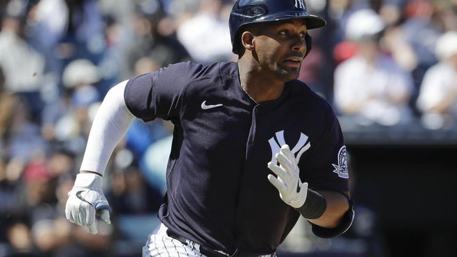 Miguel Andujar, who is returning from a shoulder-ending shoulder injury, could be super utility player for Yankees when games start up.