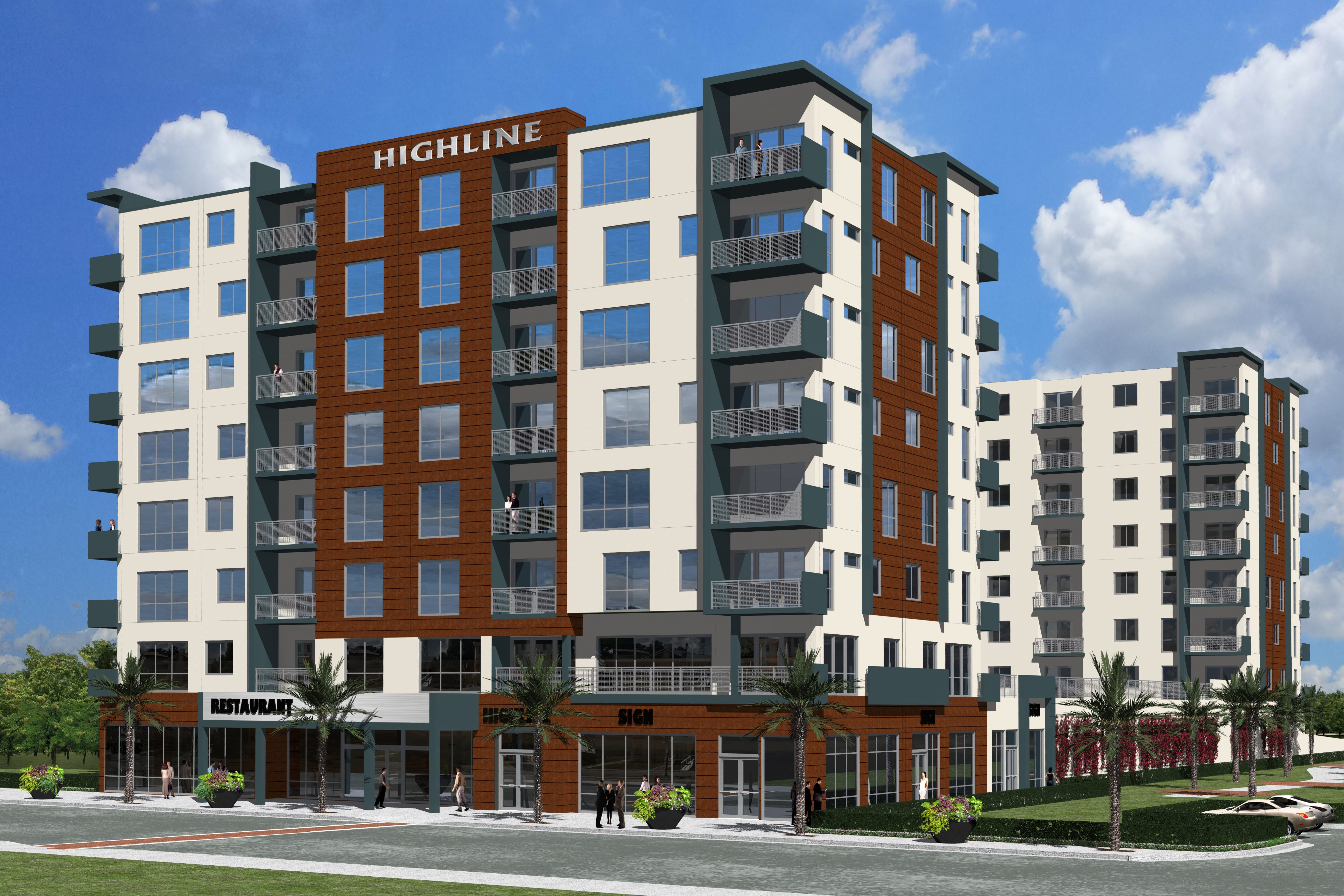 Downtown Highline Apartment Complex At Old Mel Hi Site Faces Funding Delays