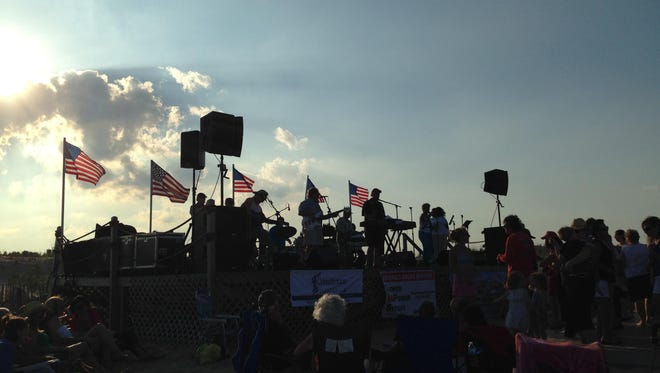 Tim McLoone and The Shirleys are among the regular performers at the Sandy Hook Foundation Beach Concert Series.