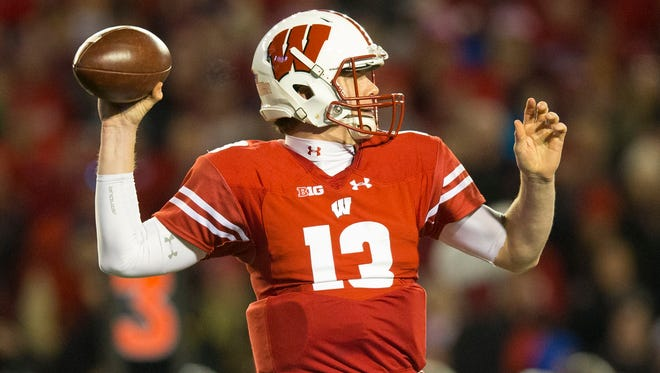 Bart Houston was in the lineup for 11 full series against Minnesota, his most extensive action since Alex Hornibrook took over as the starter.