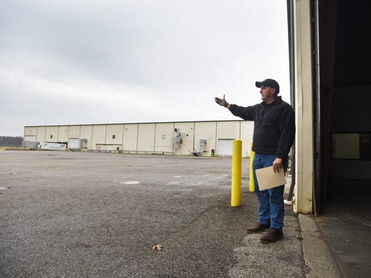 Adam Holmes, chief executive officer at Frueh Enterprises, talks about the potential of the company's new building east of Zanesville.