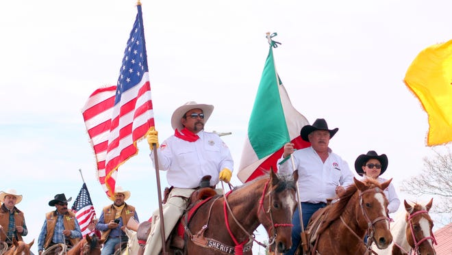 In recent years, the Cabalgata Cavalry brigade enters Columbus flying the flags if the U.S., Mexico, and New Mexico as a symbol of friendship in the region. Several riders in the cavalry have traveled 15 days for the event to share in the unity of the two nations.