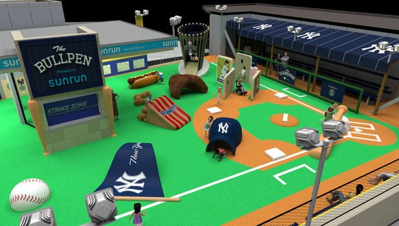 A rendering of the Sunrun Kids Clubhouse, which is