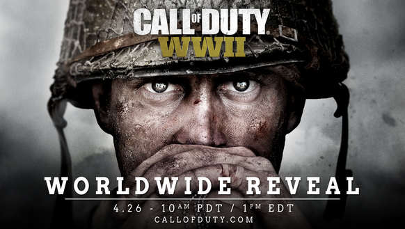 A teaser image for the next 'Call of Duty' video game,