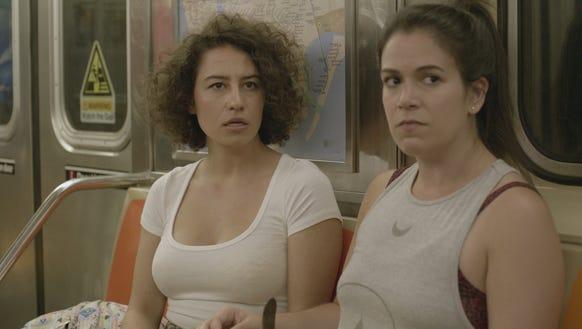 'Broad City' creators/stars Ilana Glazer, left, and