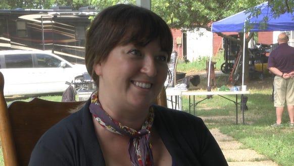 Sioux Falls native Rebecca Flinn returned home to shoot