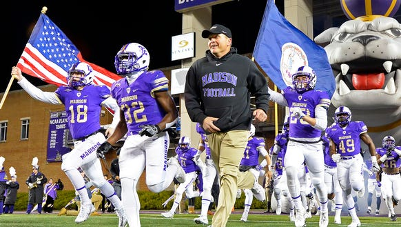 James Madison enters Saturday's semifinals with a 25-game