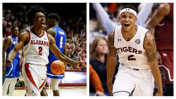 Collin Sexton and Bryce Brown will go at it in Round