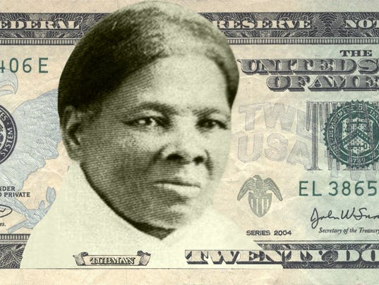 Harriet Tubman is chosen as new face of $20 bill