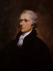 Alexander Hamilton was America's first secretary of