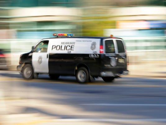 MJS police van