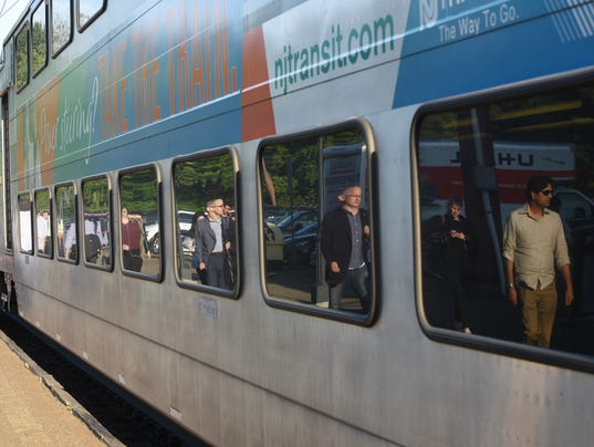 Commuters reaction to increased summer delays on NJ Transit