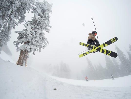 Arizona Snowbowl ski jump