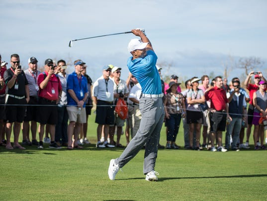 World Of Experience Helps Tiger Woods Build His First Golf
