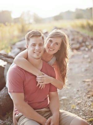 Lauren Pepple and Nathan Etler
