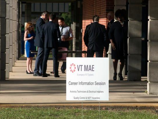 VT MAE held a career information session at Pensacola