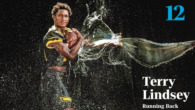 Terry Lindsey, Bishop Verot running back and No. 12 on the 2018 Big 15
