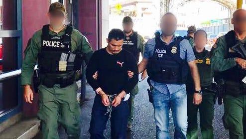 U.S. immigration officials deported Juan Garcia-Rendon Wednesday on