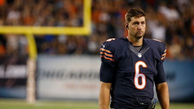 QB Jay Cutler has only taken the Bears to postseason one time.