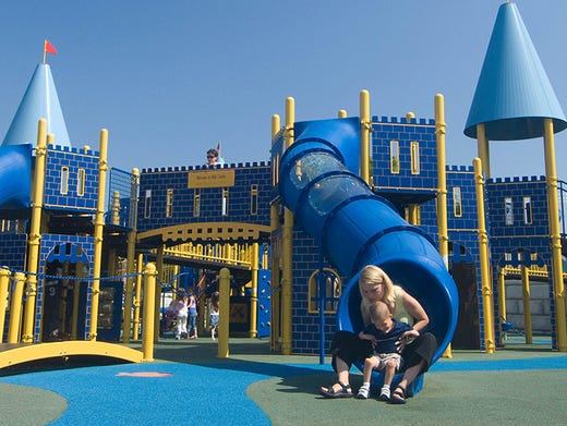 10best Playgrounds With Way More Than Slides And Swings
