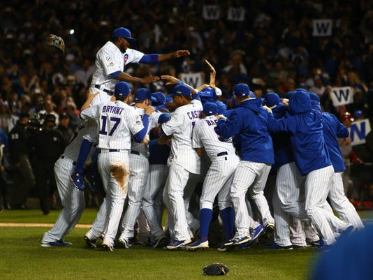 USP MLB: NLDS-ST. LOUIS CARDINALS AT CHICAGO CUBS S BBN USA IL