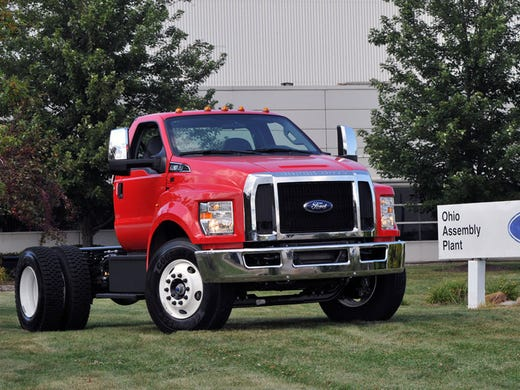 Ford builds new medium-duty trucks in U.S. for 1st time