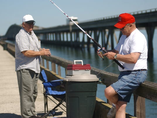 Copano bay fishing pier closed due to safety concerns for Copano bay fishing
