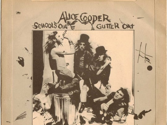 "Alice Cooper ""School's Out"" picture sleeve"