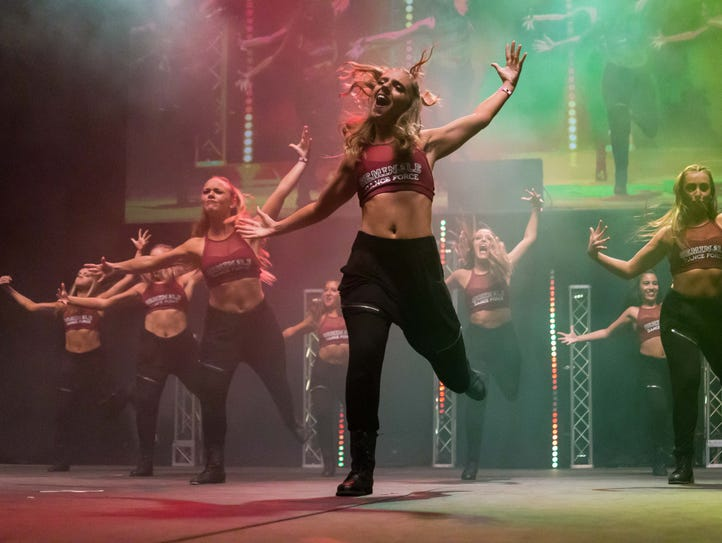 Seminole Dance Force puts on an electrifying show at