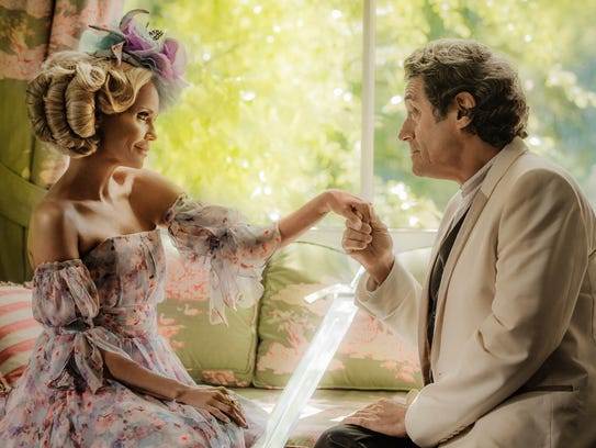 Easter (Kristin Chenoweth) is wooed by Mr. Wednesday