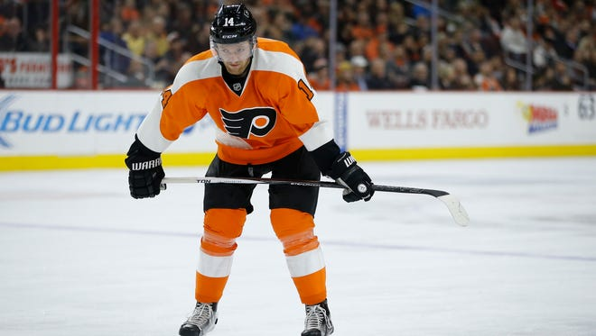 The Flyers will have to deal without Sean Couturier for the next month.
