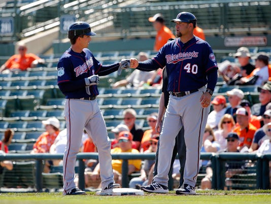 MLB: Spring Training-Minnesota Twins at Baltimore Orioles