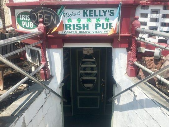 Michael Kelly's Irish Pub is a small, homey basement
