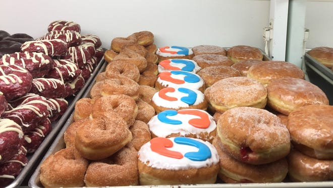 Cranky Al's donut shop, 6901 W. North Ave. in Wauwatosa, has been selling donuts inspired by the Tide Pod Challenge.