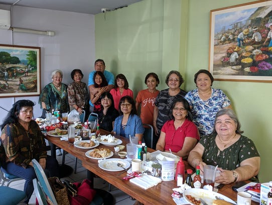 All-Island High School Class of 1968 met for a luncheon