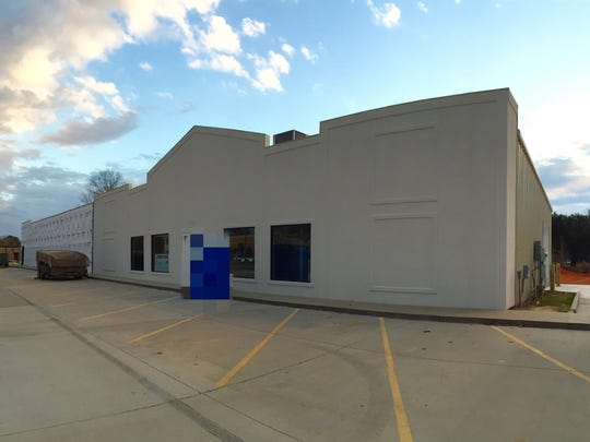 The exterior of the new location for Acadiana Kitchen & Bath.