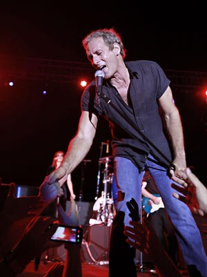 Michael Bolton, pictured during a concert in Beirut, Lebanon in 2009.