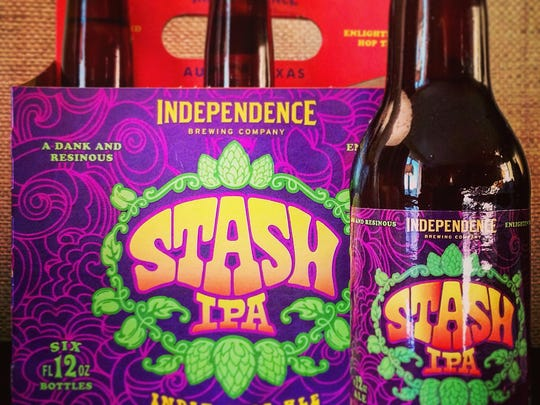 Independence Brewing Company's Stash IPA is defined by the hops – Columbus, Galaxy, Nugget, Cascade and Citra.